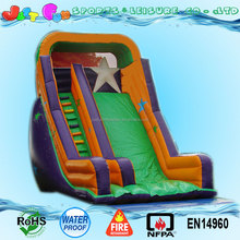 best selling gaint PVC inflatable dry slide rental for kids n adults