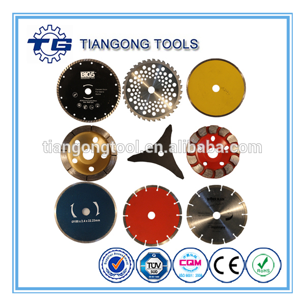 TG Tools manufacturer china supplier classical curved tile diamond saw blade
