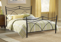 Antique bed designs queen size bed frame with iron headboard and footboard