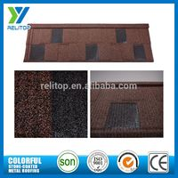Al-Zinc Sand Chip Coated Color Steel Roof Tile Made In China