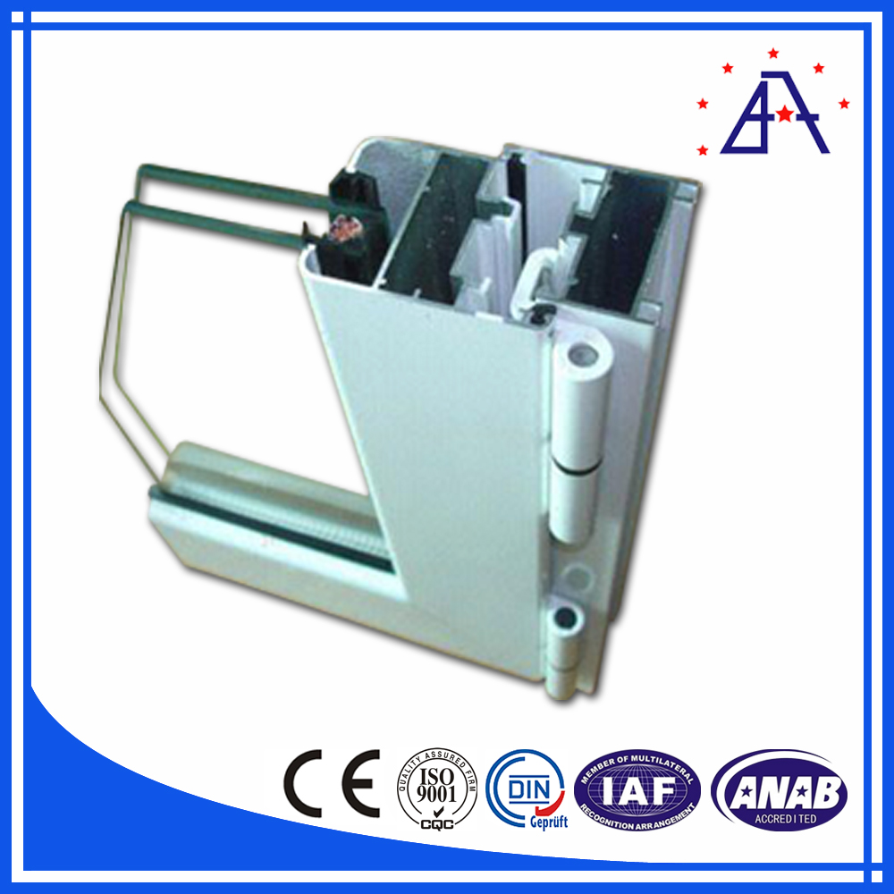 Powder Coating White Casement Aluminum Window