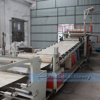 plastic marble sheet extrusion line for sale