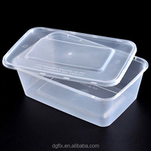 Cheap price disposable plastic food container for food to go