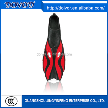Comfortable latest design diving equipment silicone training fins