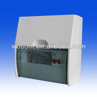 Plastic distribution box uk electrical consumer unit 8 module 6 ways