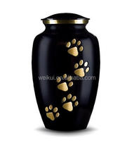 Rvs pet ash jar cremated urn