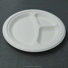 Disposable compartment paper plate