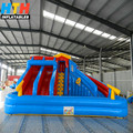 Outdoor giant inflatable water slide Inflatable Water Slide with Pool for Kids