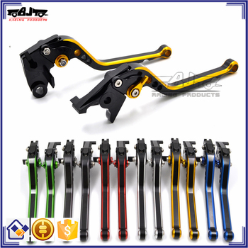 BJ-LS-011 motorcross CNC Dual Color Long Brake Lever Clutch Lever for KTM Duke 690 2008-2011