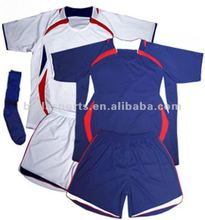 2013 newest sports wear of soccer uniform with soccer jersey and soccer shorts and football socks