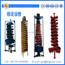 No Power Type Laboratory Spiral Chute For Gold Recovery
