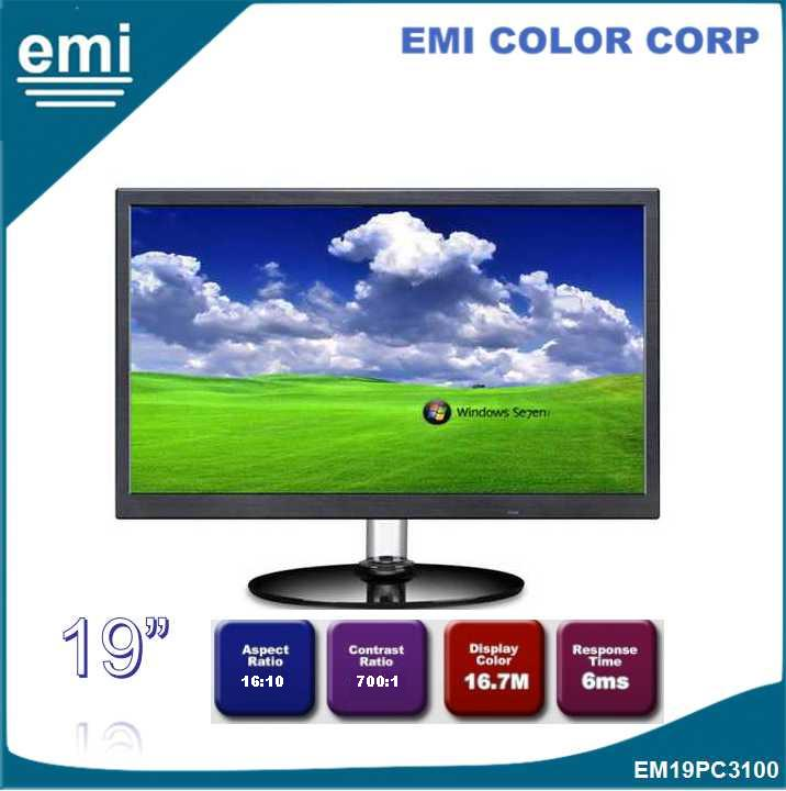 19 inch 1440*900 16:10 D-Sub VGA Desktop LED PC Monitor OEM