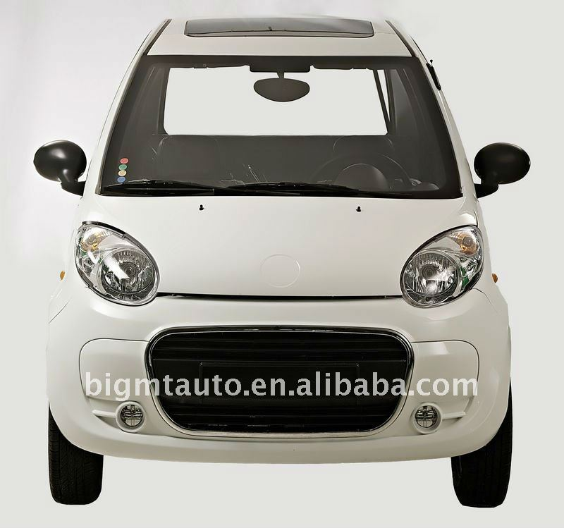 Made-in-China 7.5KW White Electric Car with EEC certificate