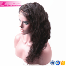 Best quality soft and smooth synthetic material human hair full lace wigs for black woman