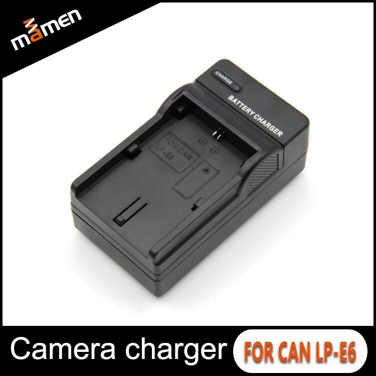 Professional Manufacturer Digital Camera Battery Charger LP-E6 US Plug Wall Charger For Canon EOS 5D Mark II 5D Mark III 5DS R
