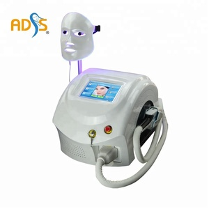 Portable skin care beauty system IPL+LED mask with ce approved/elight