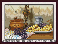 DIY CLASSICAL 3d FRUIT AND POTTERY DIAMOND PAINTING,FASHION BEAUTIFULAND ARTISTIC GRAPE CRYSTAL DIAMOND PAINTING