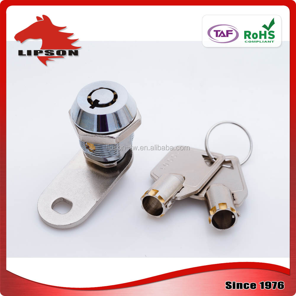 Coin Lockers Railway Applications tubular cam lock for drawer lock
