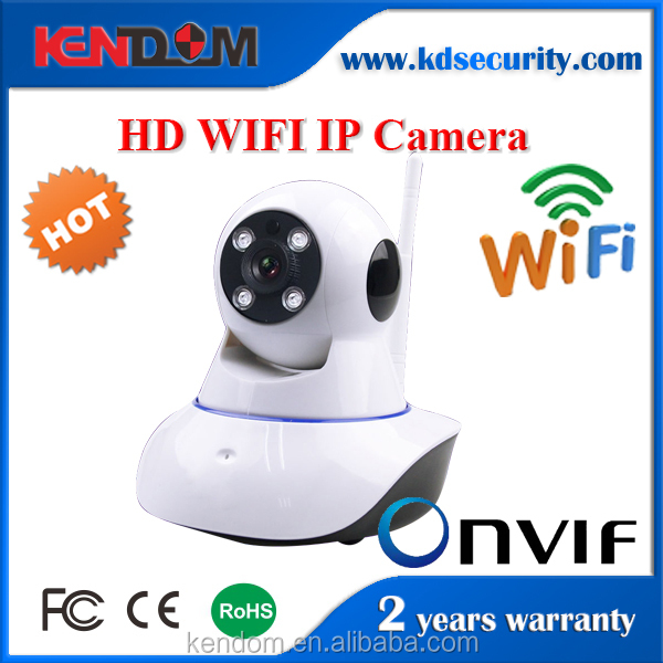 Kendom Auto Tracking IP Camera WIFI 360 Degree Home Surveillance Wireless Alarm System