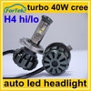 2016 new generation high power car cree led headlamp h4 hi/lo beam 50W