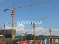 China origin QTZ63(TC5610) Slef-Raising tower crane/travelling tower crane/moving tower crane