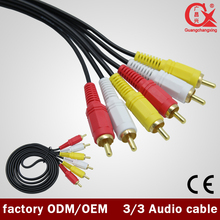 5m Good Quality japan sex video av rca cable