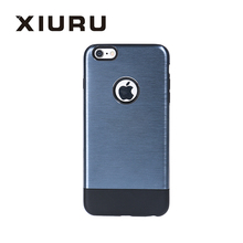 Wholesale Durable Dustproof Shockproof Metal Texture Cell Phone Case For Iphone 6 6s XR-PC-38