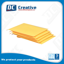 Wholesale yellow Kraft paper 6 x 9 padded envelopes