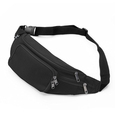 4 Zip Pockets Waist Travel Hiking Outdoor Sport Waist Bag