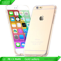 Transparent silicone cases for iphone 6 TPU case