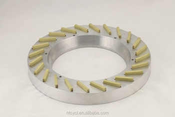 electroplated cutting blade