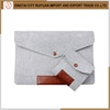 New arrival!Factory supply Top quality Fashion Felt Laptop Sleeve Made in China