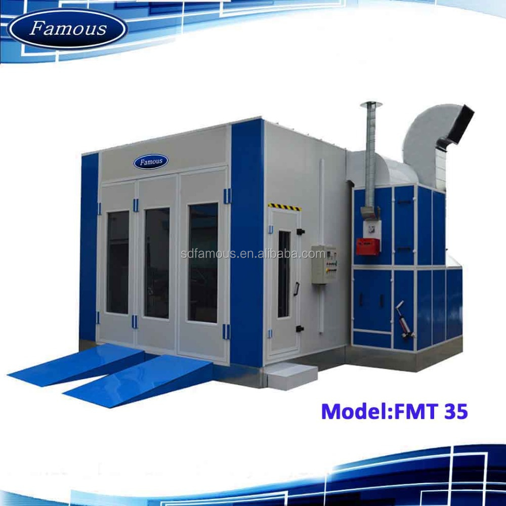 FMT35 Famous CE approved used car painting booth /used paint booth/spray boot