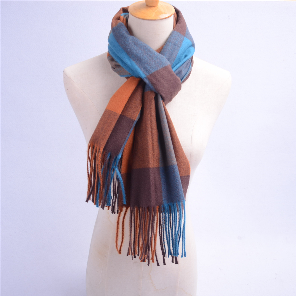 custom made winter wear wool women shawls in stock factory