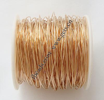 14K gold plated brass wire