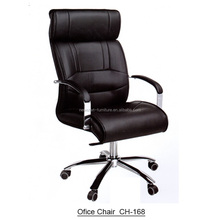 Classic High Back Black Leather Office Computer Desk Chair