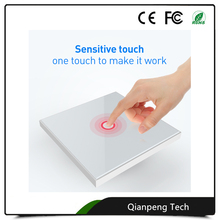 Z-wave devices technology EU 1gang 2 gang 16A max supported neutral line live line light Zwave wall touch switch