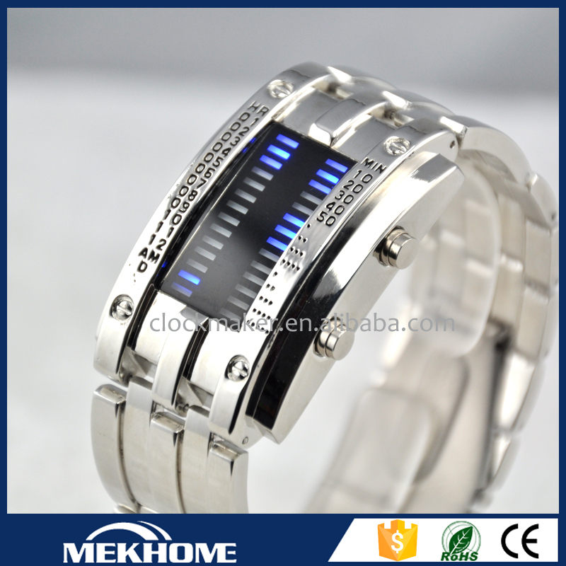 New Arrival 2015 iron samurai lava led watch