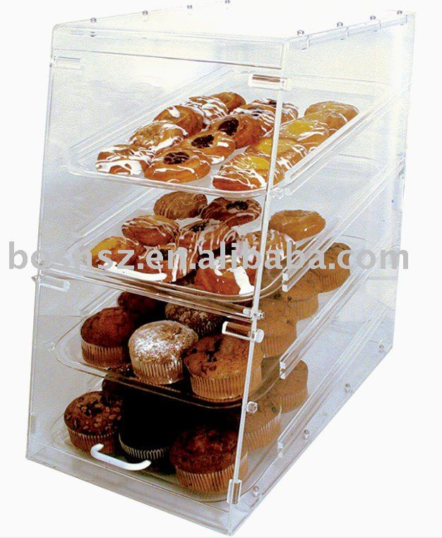 acrylique boulangerie cas plexiglas alimentaire bo te de rangement lucite p tisserie vitrine. Black Bedroom Furniture Sets. Home Design Ideas