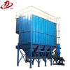 industrial dust collection system for hot dip galvanizing process