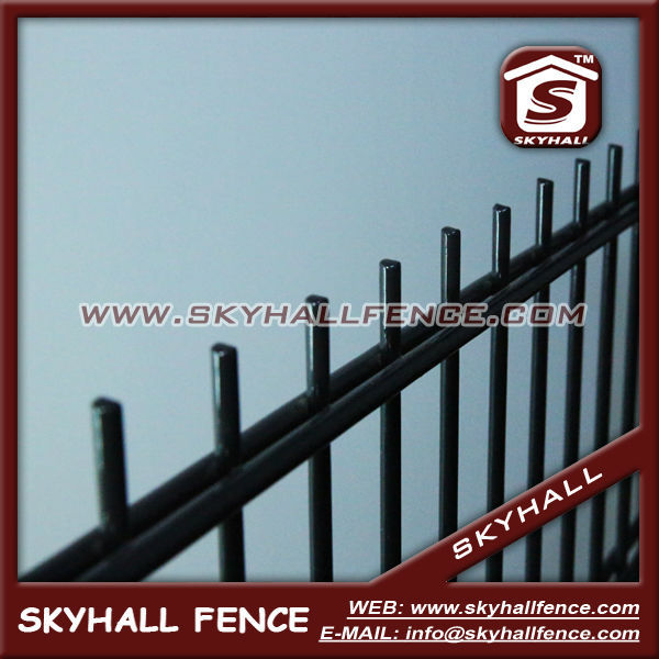 Ornamental Powder Coated Double Loop Garden Wire Mesh Fence