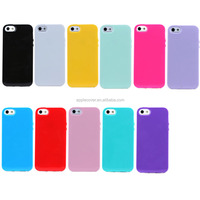 Factory price Candy color TPU Cell Phone Case for iPhone 5/5S , for iPhone5/5S case China supplier