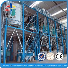 Full Automatic Maize Flour Machine/Wheat Flour Mill/Maize Milling Machine