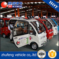 Hot selling 3 seater adult pedal automatic electric car