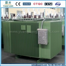 Indoor 315kva three phase copper wire standard transformer kva ratings 6.6KV transformer