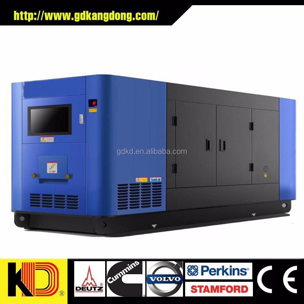 Silent / Soundproof 100kw 125 kva diesel generator with stamford alternator