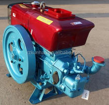 China Good quality cheaper Four stroke water cooled Single cylinder small marine inboard diesel engine