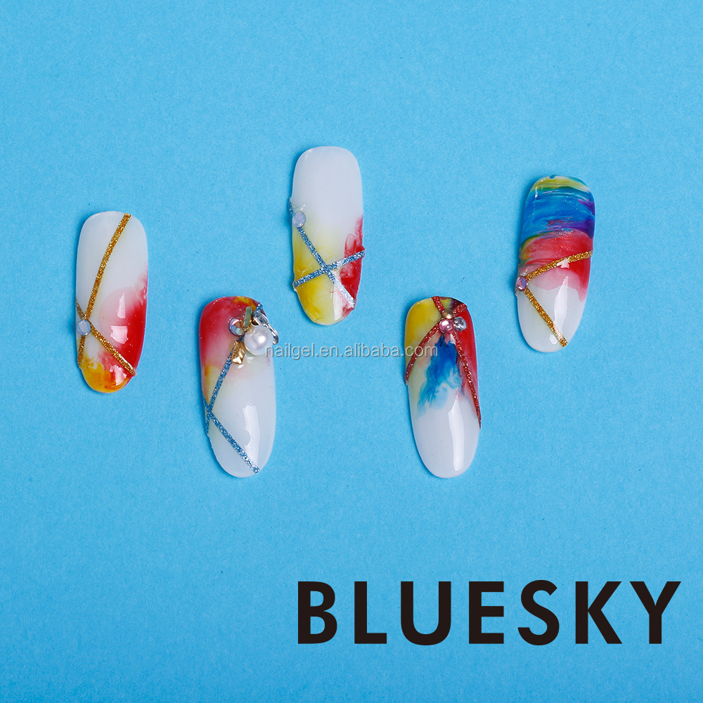 Bluesky uv soak off nail gel polish free sample offered with private label wholesale nail polish