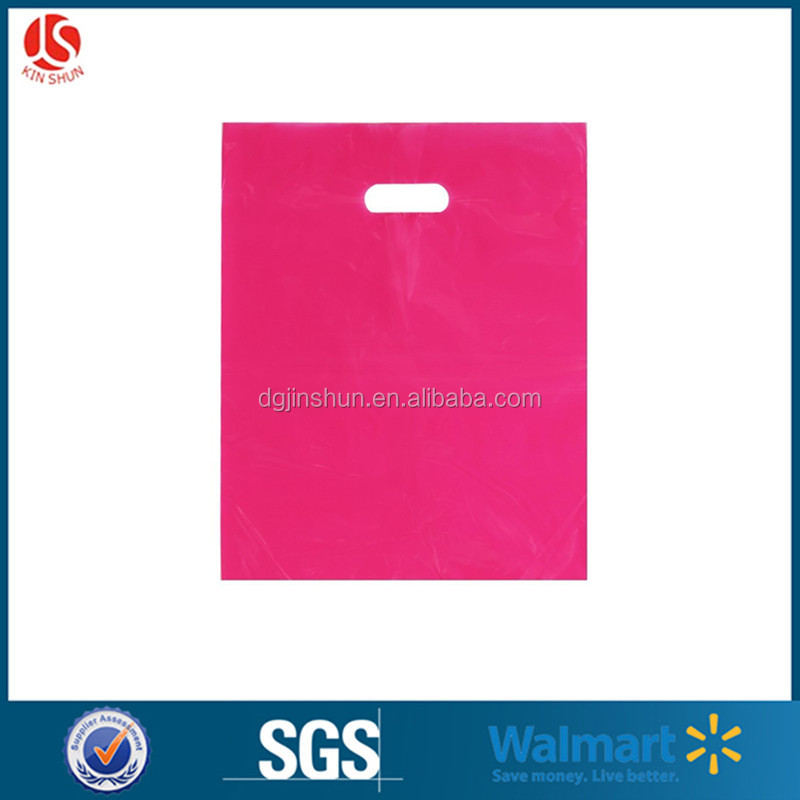 wholesale merchandise bag China Factory Custom Printed Recyclable Plastic Shopping Bag