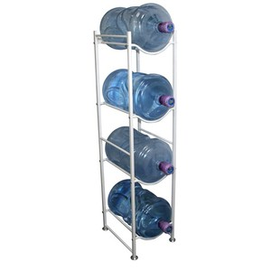 4 liter 5 gallon water dispenser bottle storage rack